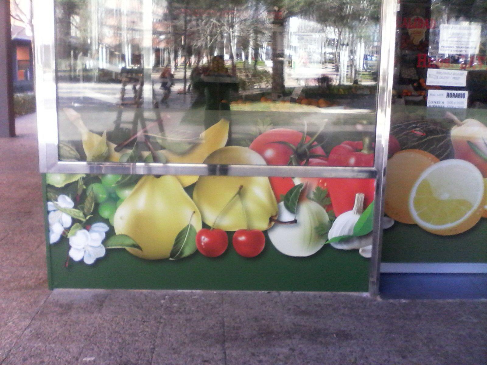 Rotulación integral para tienda en el centro de Madrid